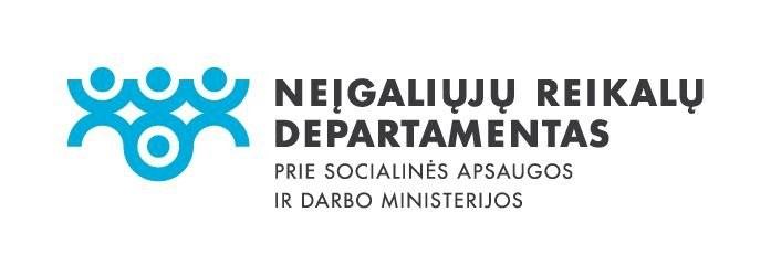 Neigaliuju reikalu departamento logo