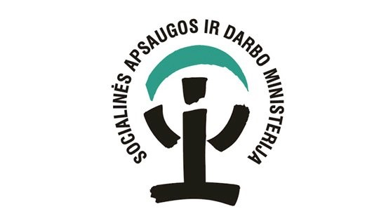 Socialines apsaugos ir darbo ministerijos logo