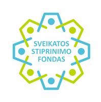 Sveikatos stiprinimo fondo logo